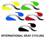 International Deaf Cycling Logo